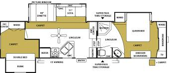 Forest River 5th Wheel Floor Plans Used 2006 Forest River Rv Sandpiper 315bht Fifth Wheel At Fun Town