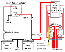 battery isolator wiring diagram manufacturers ignition switch with