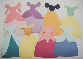 disney princess dress paper templates reiko handcrafted