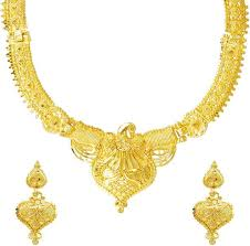 necklace gold jewelry images One gram gold jewellery buy one gram gold jewellery online at jpeg