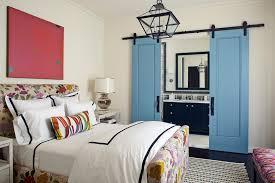 Fabric Closet Doors Fabric Closet Doors Bedroom Mediterranean With Floral