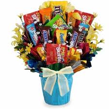 candy bouquets get well candy bouquet bisketbaskets