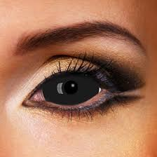halloween contact lenses black sclera halloween contact lenses