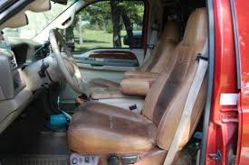 2000 Ford F250 Interior 2000 Ford F250 4x4 King Ranch Seats