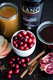 spiced pomegranate apple cider mulled wine eats