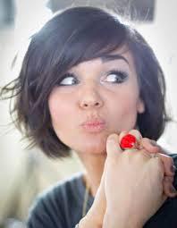 coupe de cheveux visage ovale coiffure visage rond femme cheveux fins 40 coiffures canon pour