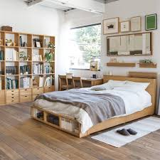 Bedroom Extraordinary Bedroom Furniture With Shoe Storage For Compact Life Muji