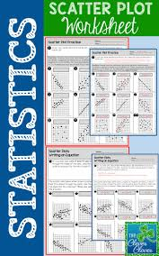 Graphing X And Y Intercepts Worksheet Best 25 Scatter Plot Worksheet Ideas Only On Pinterest Linear