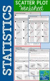 best 25 scatter plot worksheet ideas on pinterest linear