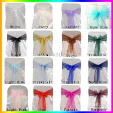 organza sashes wholesale organza chair sashes chair bow cover for banquet wedding