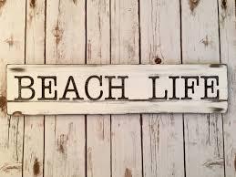 28 beach signs home decor beach life home decor wood sign