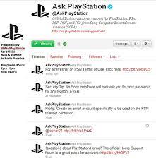 playstation help desk number askplaystation introducing playstation customer service via twitter