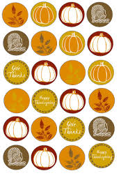 happy thanksgiving printable food art party free thanksgiving printable cupcake wrappers