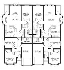 duplex house plan and elevation 2878 sq ft kerala home design