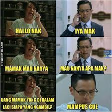 Foto Meme Indonesia - detik detik terciduk wankuy meme comic indonesia facebook