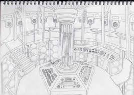 tardis control room by beehee02 on deviantart