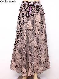 rok panjang muslim rok batik panjang cantik yang elegan dan bunda rok panjang