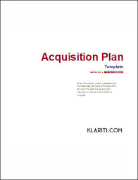 acquisition plan template acquisition plan excel template for 5 year plan other files