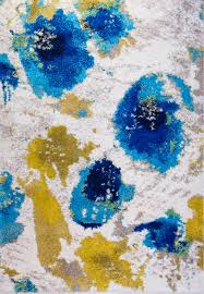 Bright Blue Rug Home Dynamix Area Rugs Four Seasons Rug 2003 309 Blue Four