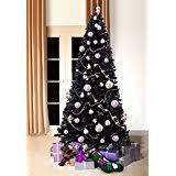 black christmas trees black trees seasonal décor home kitchen