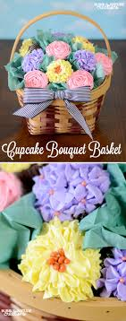 cupcake gift baskets cupcake bouquet basket sprinkle some