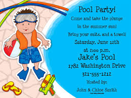 pool party invitation wording diy a simple pool party