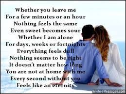 i miss you poems for husband missing you poems for him
