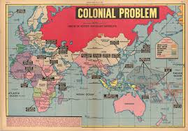 Africa Colonial Map by Colonial Problem 1947 1861x1301 Mapporn