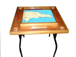 dominoes tables for sale in miami custom made domino table republic domino table with the map image