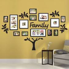 family tree collage picture plaque photo wall art mount wedding