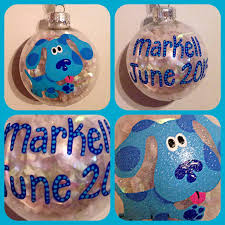 blue u0027s clues christmas ornament hand painted kids cartoon
