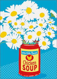 get well soon soup soup can of flowers a press get well card by avanti press