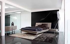 bedroom pretty black and white bedrooms with low platform bed