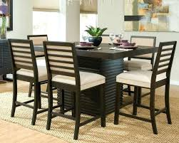 high dining room table and chairs tall dining room tables sets high top dining table set dining tables