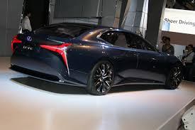 lexus coupe concept hydrogen powered lexus lf fc concept previews next gen ls flagship