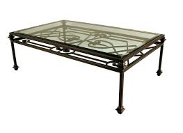 side table rod iron coffee table base black wrought iron side