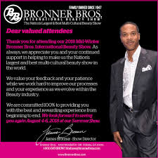 bonner brother winter hairshow in atlanta bronner bros bronnerbros twitter