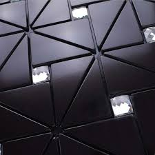 Wall Panels For Kitchen Backsplash Metal Glass Mosaic Tiles Aluminum Backsplash Js008