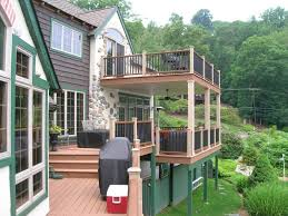 3 story house plans with roof deck home design 93 captivating 3 deck building cost regarding deck designs for 2 story house for inspire