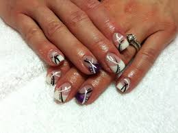 colored french tip nail designs cute nails for women
