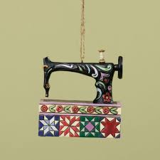 sewing machine ornaments diy crush