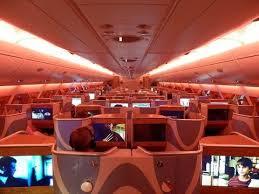 siege plus a380 emirates a380 business class dubai to sydney