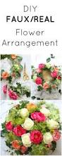 Artificial Flower Decorations For Home Ikea Hack Faux Real Flower Arrangement