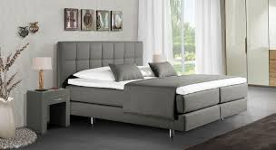 Schlafzimmer Mit Betten In Komforth E Boxspringbett Mit Kaltschaummatratze Günstig Bologna