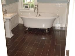 Download Wood Floor Tile Bathroom Gencongresscom - Hardwood flooring in bathroom