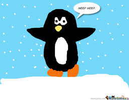 Cute Penguin Meme - free cartoon penguin download free clip art free clip art on