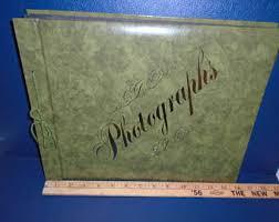 Holson Photo Album Vintage Photo Album Etsy