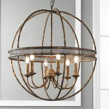 impressive sphere shaped chandeliers 25 best ideas about orb