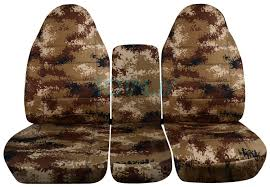 Camo Truck Accessories For Ford Ranger - 1994 2002 dodge ram 40 20 40 camo truck seat covers console