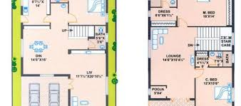 South Facing House Floor Plans South Facing House Plans 30 X 60 Ehouse Plan Simple Small South